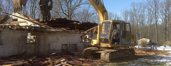 Carroll Bros. Contracting demolition
