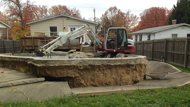 Carroll Bros. Contracting Swimming Pool Removal in Bowie MD