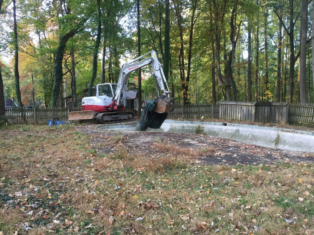 Carroll Bros. Contracting Columbia, MD pool removal