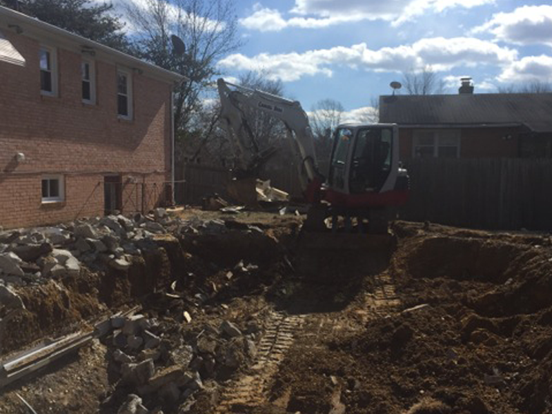 Pool Removal in Clinton, Maryland