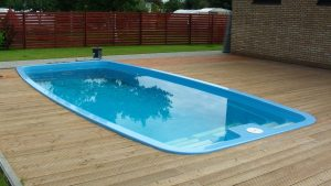 Fiberglass Pool - Most Common Types of Pools We Remove