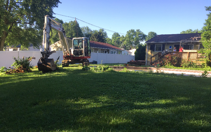 Owings Mills pool removal assessment