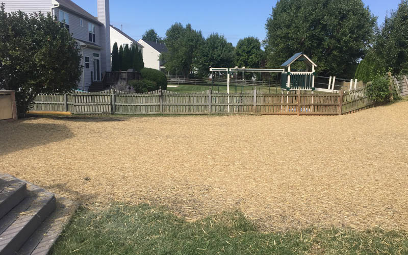 swimming pool removal in Howard County after image