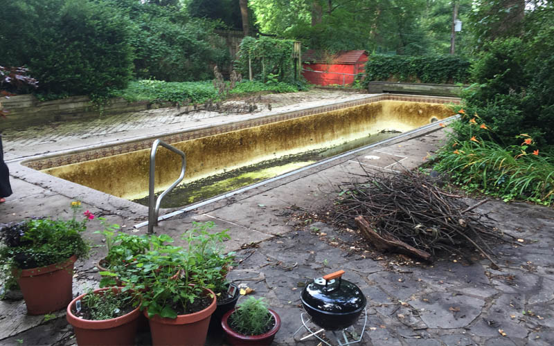 Swimming Pool Removal in Baltimore City
