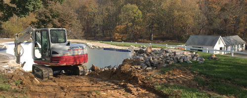 Montgomery County In-Ground Pool Removal DEMO