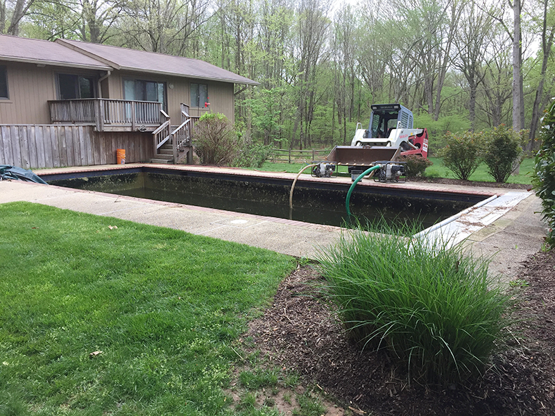 Highland Pool Removal