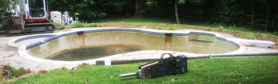 Ellicott City Pool Removal
