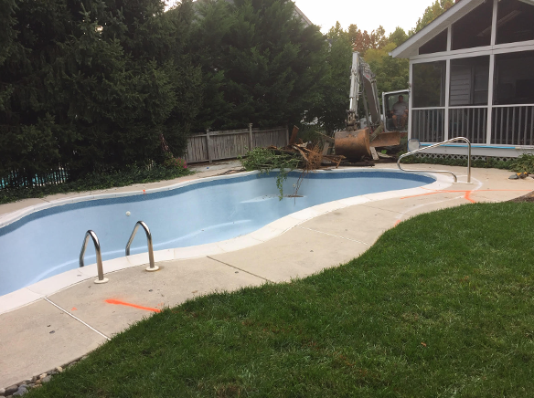 Ellicott City pool rebuild