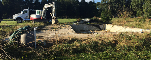 Queen Anne's county pool removal